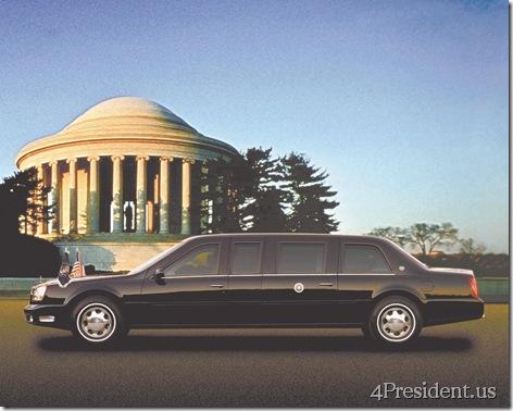 The 2001 Cadillac DeVille Limousine