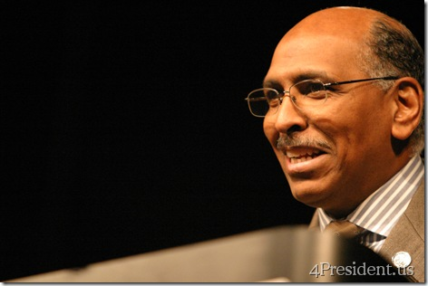 Michael Steele At Iowa Reagan Day Dinner, October 27, 2007