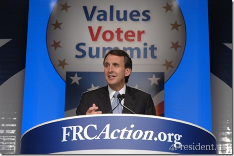 Tim Pawlenty, Values Voters Summit, Family Research Council, EMA