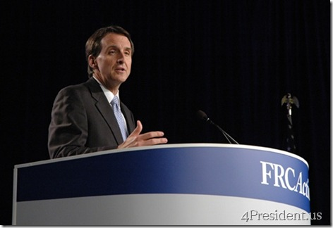 Tim Pawlenty File Photo, September 19, 2009, Value Voters Summit, Courtesy Democracy In Action