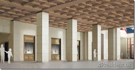 Foyer, Courtesy George W. Bush Presidential Center