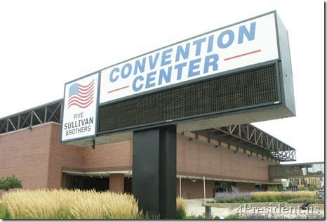 Five Sullivan Brothers Convention Center, Waterloo, Iowa