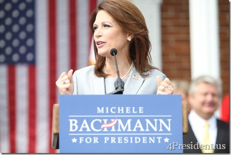 Michele Bachmann 2012 Announcement Photo Waterloo, Iowa June 27, 2011