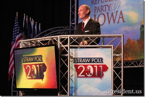 Thad McCotter Iowa Straw Poll Photos