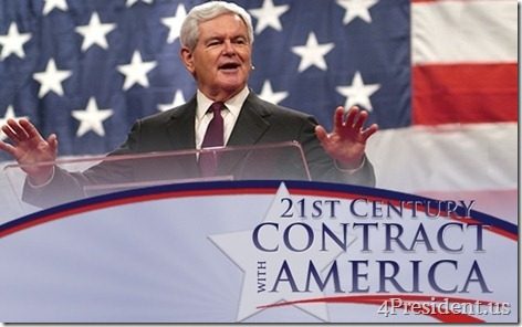 Newt Gingrich 21st Century Contract With America