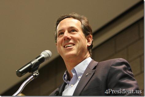 Rick Santorum Blaine Minnesota Rally Photos National Sports Center #mncaucus February 7, 2012