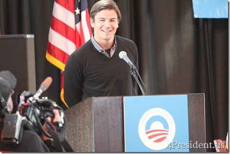 Josh Hartnett Photos Greater Together Obama For America Minnesota Youth Summit April 14, 2012
