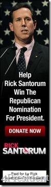 santorum 011512 blogad 160x600 help win 4President