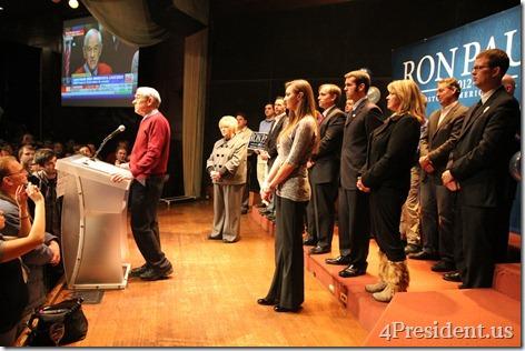 Ron Paul Campaign Minnesota Caucus Night Event Photos