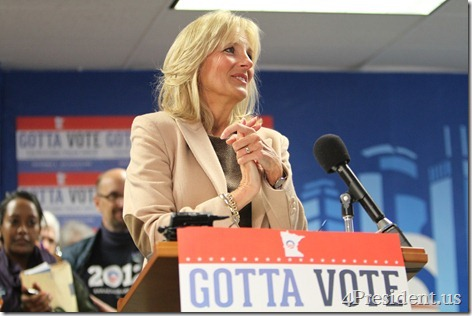 Canvass Kick-Off Event With Dr. Jill Biden Photos, Obama for America Office, Minneapolis, Minnesota, October 20, 2012