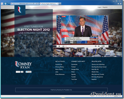romney 110612 livestream remarks