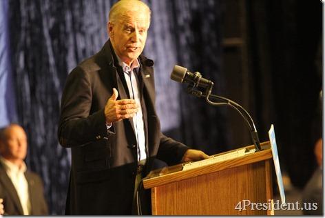 Joe Biden Grassroots Rally Photos, University of Wisconsin–La Crosse, October 12, 2012
