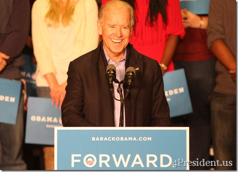 Joe Biden Grassroots Rally Photos, University of Wisconsin–La Crosse, October 12, 2012