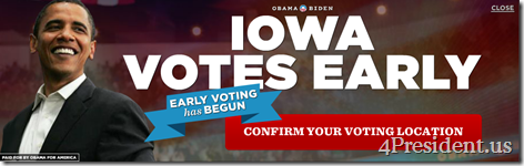 obama 102312 blogad 960x300 early vote ia dmregister