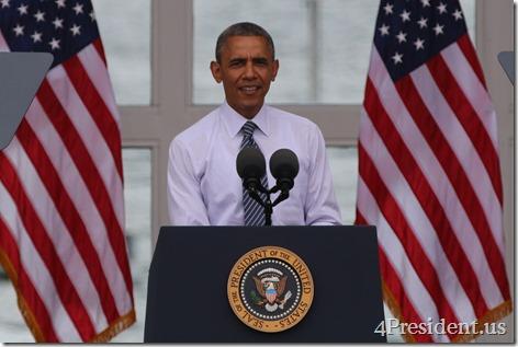 President Barack Obama, Lake Harriet, Minneapolis, Minnesota, June 27, 2014 IMG_3800