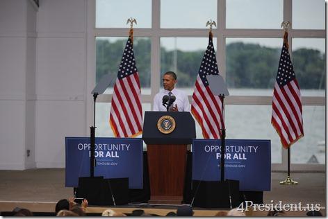 President Barack Obama, Lake Harriet, Minneapolis, Minnesota, June 27, 2014 IMG_7075