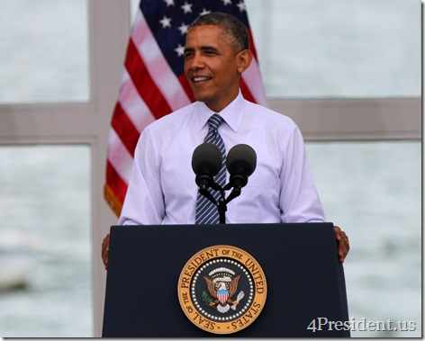 President Barack Obama, Lake Harriet, Minneapolis, Minnesota, June 27, 2014 IMG_3836l