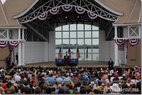 President Barack Obama, Lake Harriet, Minneapolis, Minnesota, June 27, 2014 IMG_7090