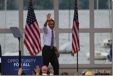President Barack Obama, Lake Harriet, Minneapolis, Minnesota, June 27, 2014 IMG_3918
