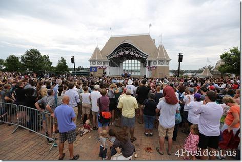President Barack Obama, Lake Harriet, Minneapolis, Minnesota, June 27, 2014 IMG_7074