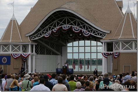 President Barack Obama, Lake Harriet, Minneapolis, Minnesota, June 27, 2014 IMG_7100