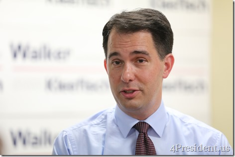Scott Walker, Hudson, Wisconsin Victory Center Photos, July 22, 2014 IMG_8898