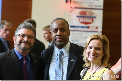 Ben Carson Iowa GOP Lincoln Dinner Photos, May 16, 2015, Des Moines, Iowa #LincolnDinner IMG_4735