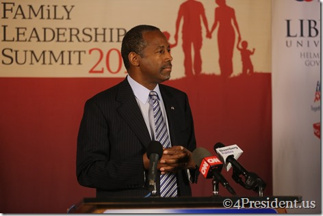 Ben Carson Photos, THE FAMiLY LEADERSHIP SUMMIT, July 18, 2015, Ames, Iowa #FLS2015 IMG_4562