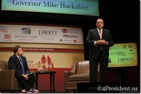 Mike Huckabee Photos, THE FAMiLY LEADERSHIP SUMMIT, July 18, 2015, Ames, Iowa #FLS2015 IMG_4719