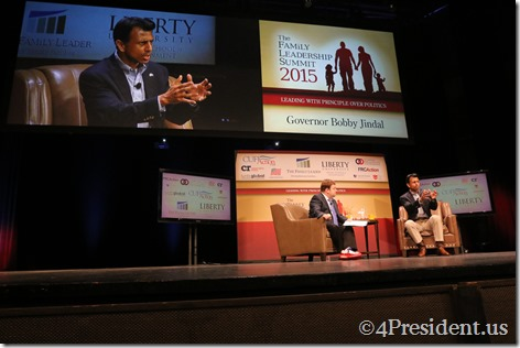Bobby Jindal Photos, THE FAMiLY LEADERSHIP SUMMIT, July 18, 2015, Ames, Iowa #FLS2015 IMG_2941