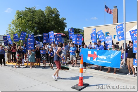 Hillary Clinton Photos, Iowa Democratic Wing Ding Dinner, Clear Lake, Iowa, August 14, 2015 #WingDing IMG_9909