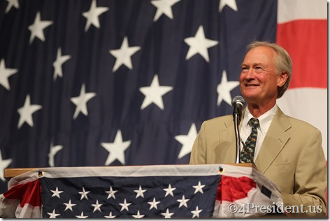 Lincoln Chafee Photos, Iowa Democratic Wing Ding Dinner, Clear Lake, Iowa, August 14, 2015 #WingDing IMG_9977
