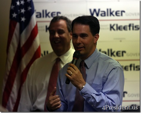 Scott Walker Chris Christie Hudson Wisconsin Victory Center IMG_6734x