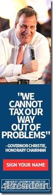 Chris Christie Leadership Matters for America Budget Address Blog Ad