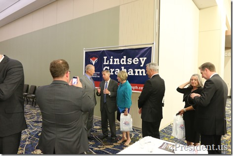 Lindsey Graham Iowa GOP Lincoln Dinner Photos, May 16, 2015, Des Moines, Iowa #LincolnDinner IMG_2554