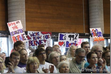 Bernie Sanders Town Meeting Photos, Minneapolis, Minnesota, May 31, 2015, Minneapolis American Indian Center, 2 of 3 IMG_5622