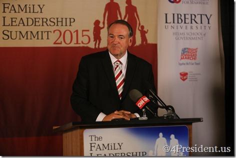 Mike Huckabee Photos, THE FAMiLY LEADERSHIP SUMMIT, July 18, 2015, Ames, Iowa #FLS2015 IMG_4759