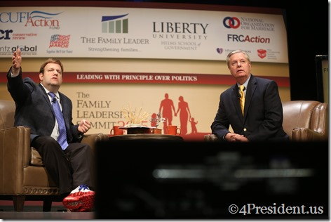 Lindsey Graham Photos, THE FAMiLY LEADERSHIP SUMMIT, July 18, 2015, Ames, Iowa #FLS2015 IMG_4880