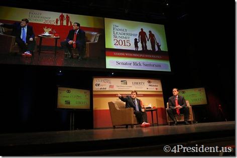 Rick Santorum Photos, THE FAMiLY LEADERSHIP SUMMIT, July 18, 2015, Ames, Iowa #FLS2015 IMG_2941 IMG_2957