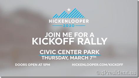 Hickenlooper Video Kickoff