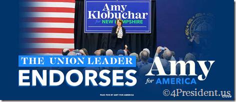 amy klobuchar 021120 blogad 970x90 union leader endorsement
