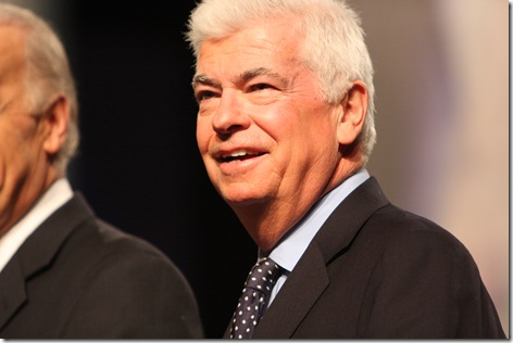 Des Moines Register Debate Chris Dodd Photo