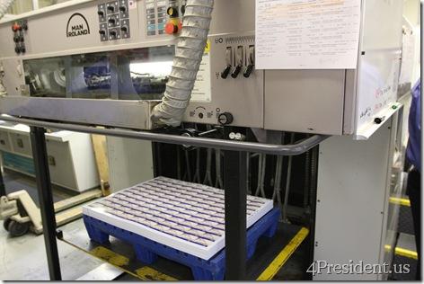 Man Roland Printing Press